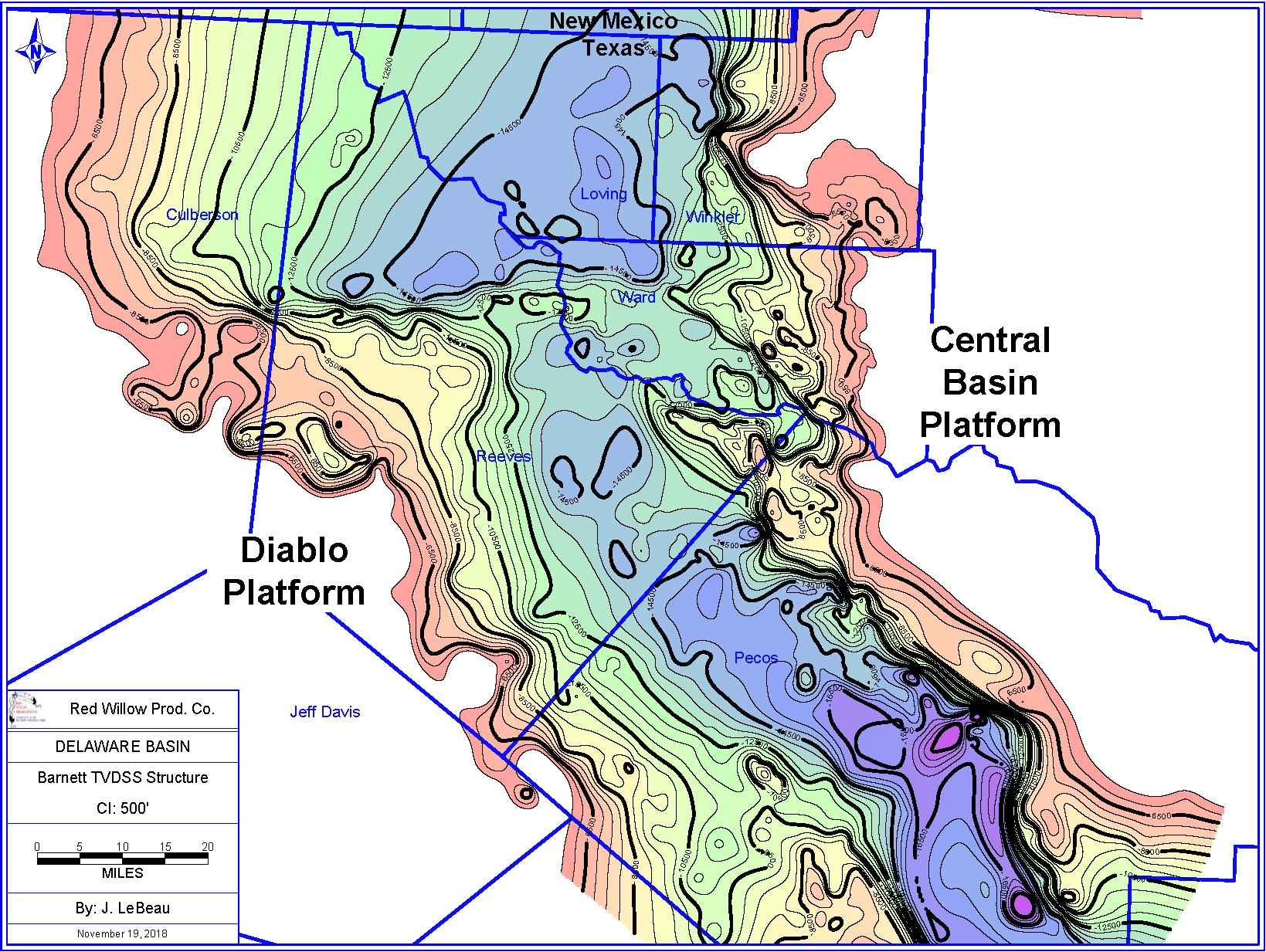Basin Scale Geologic Processes Impact On Wolfcamp Unconventional Oil